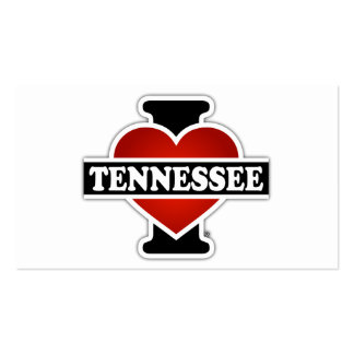 I Heart Tennessee Double-Sided Standard Business Cards (Pack Of 100)