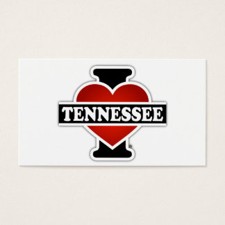 I Heart Tennessee Business Card