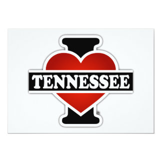 I Heart Tennessee Card