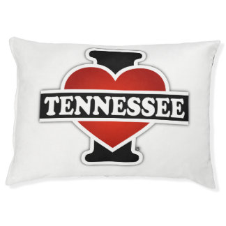 I Heart Tennessee Dog Bed