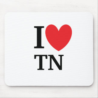 I Heart Tennessee Mousepad