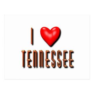 I Heart Tennessee Postcard