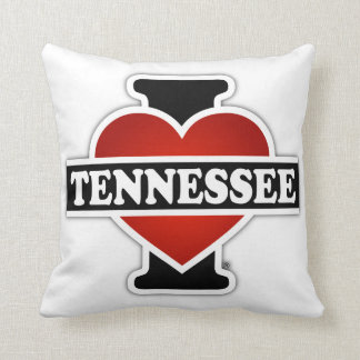 I Heart Tennessee Throw Pillow