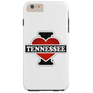 I Heart Tennessee Tough iPhone 6 Plus Case