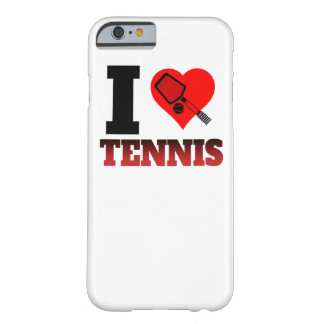 I Heart Tennis Barely There iPhone 6 Case
