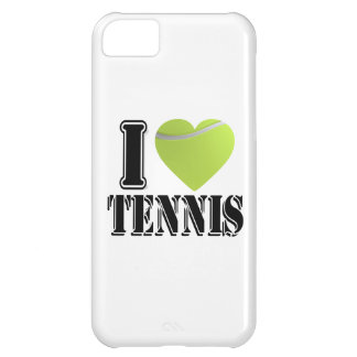 I heart tennis iPhone 5C cover