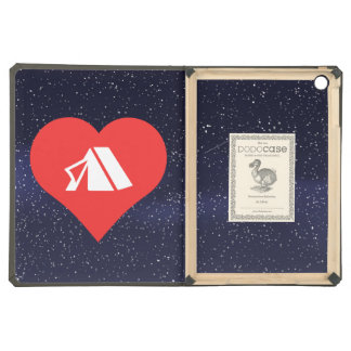 I Heart Tents Icon Cover For iPad Air