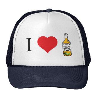 I heart tequila trucker hat