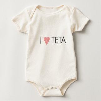 I HEART TETA BABY BODYSUIT