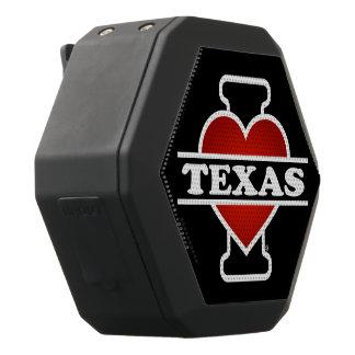 I Heart Texas Black Bluetooth Speaker