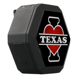 I Heart Texas Black Boombot Rex Bluetooth Speaker