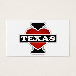 I Heart Texas Business Card