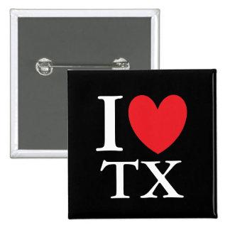 I Heart Texas Button