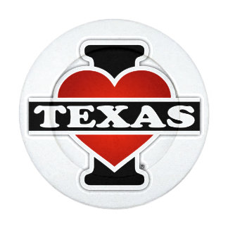 I Heart Texas Button Covers