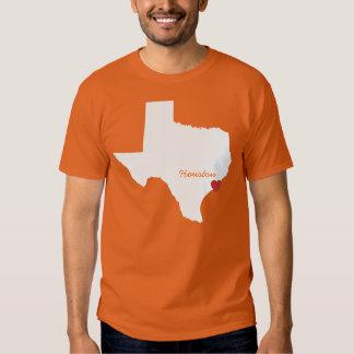 I Heart Texas - Customizable City T-shirt