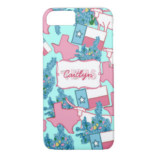 I Heart Texas iPhone 7 Case