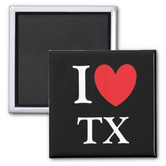 I Heart Texas Magnet