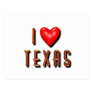 I Heart Texas Postcard