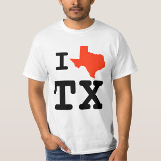 I Heart Texas Shirt
