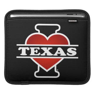 I Heart Texas Sleeve For iPads