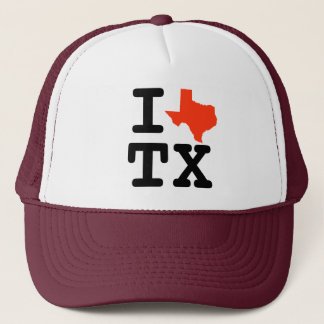 I Heart Texas Trucker Hat