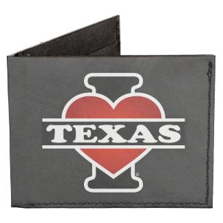 I Heart Texas Tyvek Wallet