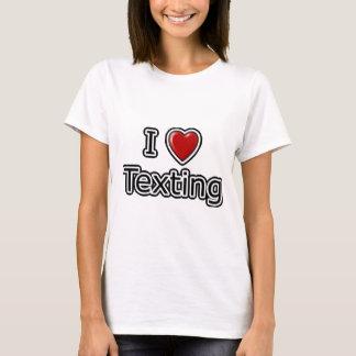 I Heart Texting T-Shirt