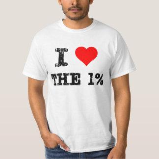I Heart The 1% T-Shirt