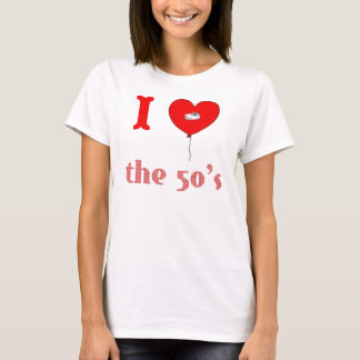 I Heart the 50's Vintage Style T-shirt