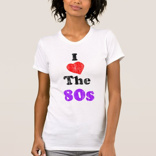 I Heart the 80s Vintage T-Shirt
