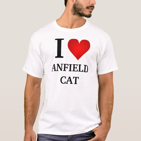 I Heart The Anfield Cat T-Shirt