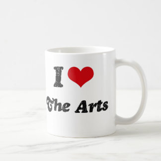 I Heart The Arts Classic White Coffee Mug