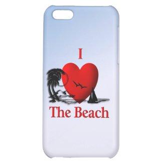 I Heart The Beach iPhone 5 Case