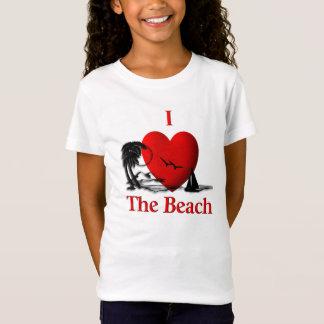 I Heart The Beach T-Shirt