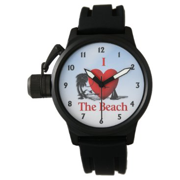 Beach Themed I Heart The Beach Watches