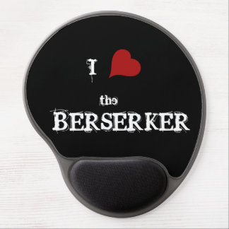 I heart the berserker mouse pad gel mouse pad