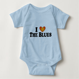 I (heart) The Blues - Lite Multi-Products Baby Bodysuit