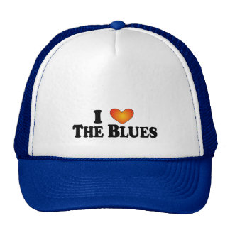I (heart) The Blues - Lite Multi-Products Trucker Hats