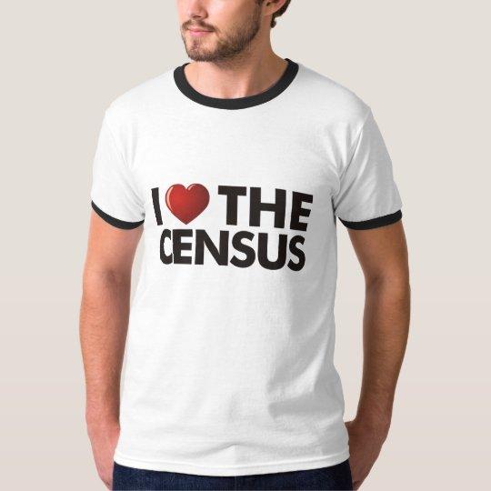 I Heart The Census T-Shirt