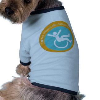 I {heart} the Chronically Awesome Pet Tshirt