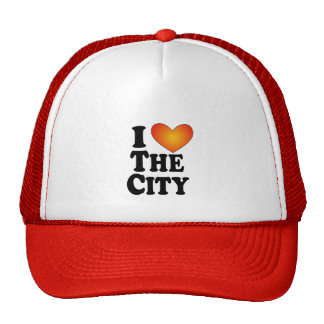 I (heart) The City - Lite Multi-Products Mesh Hats