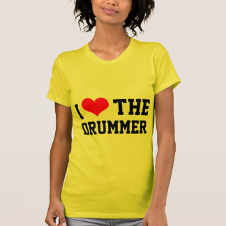 I Heart The Drummer T-shirts