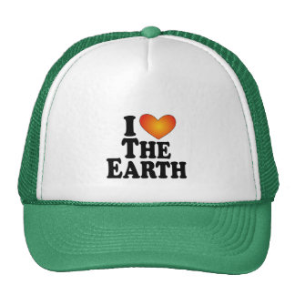 I (heart) The Earth - Lite Multi-Products Mesh Hats