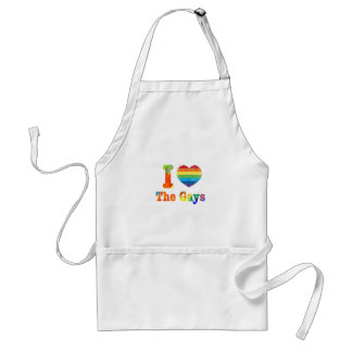 I Heart The Gays Adult Apron