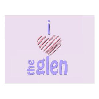 I Heart The Glen Postcard