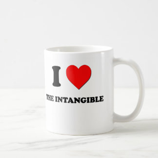 I Heart The Intangible Coffee Mugs