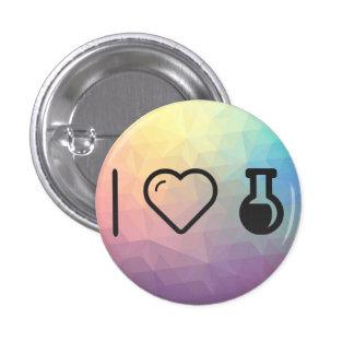 I Heart The Laboratorys 1 Inch Round Button