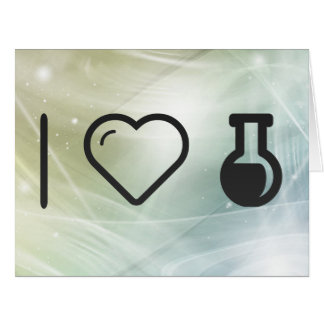 I Heart The Laboratorys Large Greeting Card