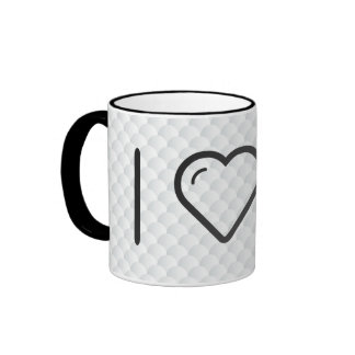 I Heart The Laboratorys Ringer Coffee Mug