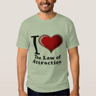 I heart the Law of Attraction Tee Shirt